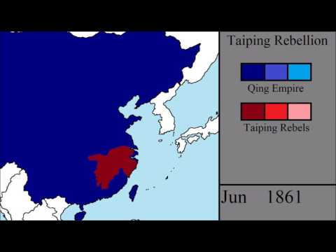 The Taiping Rebellion: Every Month