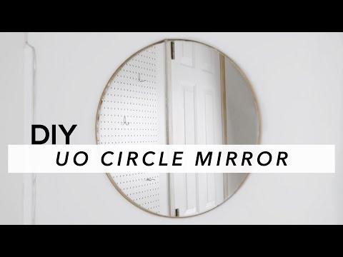 DIY CIRCLE MIRROR
