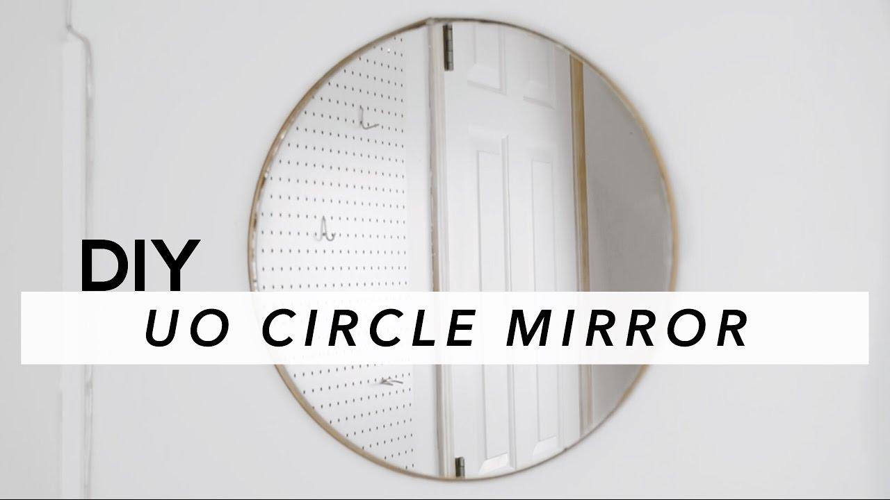 Diy Circle Mirror Youtube