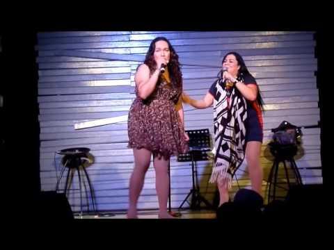 osang and ruffa girl @ SITCOM LIVE in LAS PINAS!! singing SAYANG NA SAYANG by AEGIS LAFFTRIP TALAGA