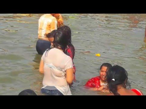 Holy bath in Sangam kumbhmela 2019 prayagraj | #kumbhmela2019 #nagababa | work speaks
