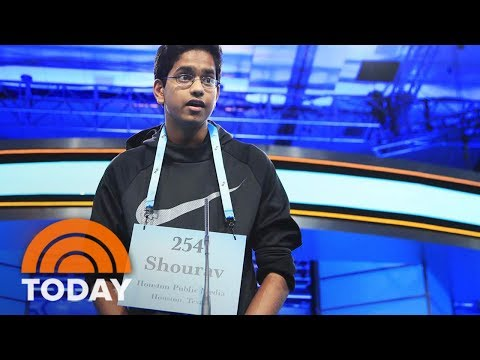 National Spelling Bee Contestant Nails His Word In 5 Seconds Flat   TODAY