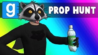 Gmod Prop Hunt Funny Moments - Bank Robbery Superheroes! (Garry's Mod)