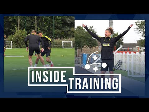 Weights, Running, and Ball Work at Thorp Arch |  Internal training