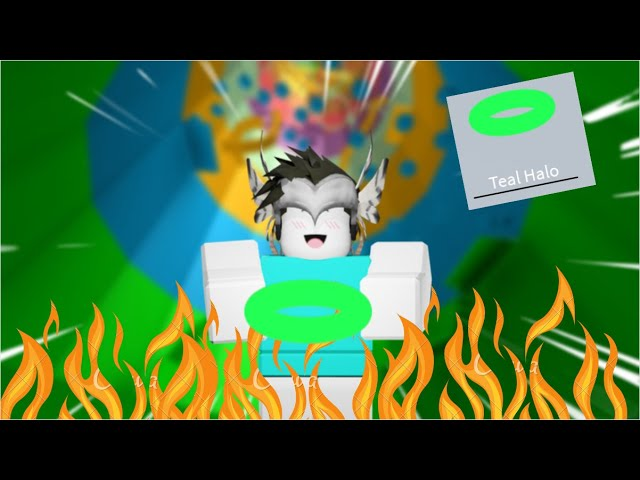 Halo Tucker Roblox I Got The Teal Halo In Tower Of Hell Roblox Youtube