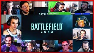 Battlefield 2042 Reveal Trailer Reactions Mashup
