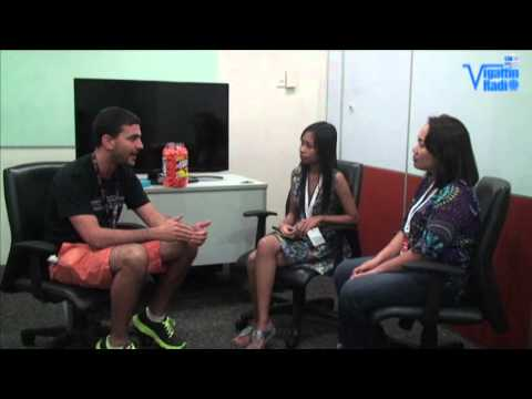 Interview with Greg Gopman @ angelhack manila 2013