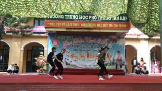 THPT Đan Phượng + THPT Tân Lập | Dance Cover | Lotto EXO + Bang Bang Bang + Fire BTS | JUNTO Crew