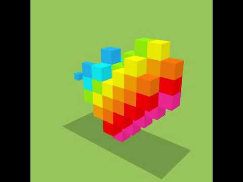 Who can do quickest voxel colouring ep-8