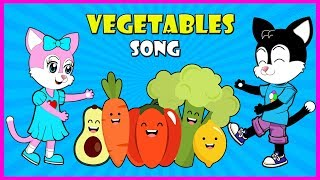 Milo and Miley Vegetables Song   Funny Song For Kids