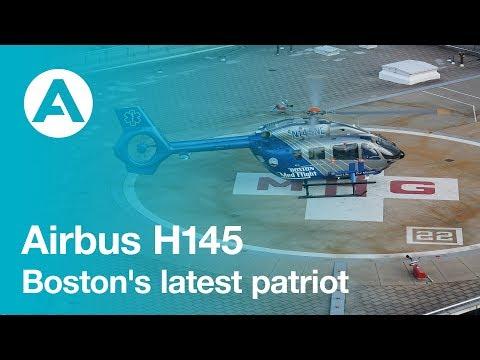 Boston's Latest Patriot: The H145