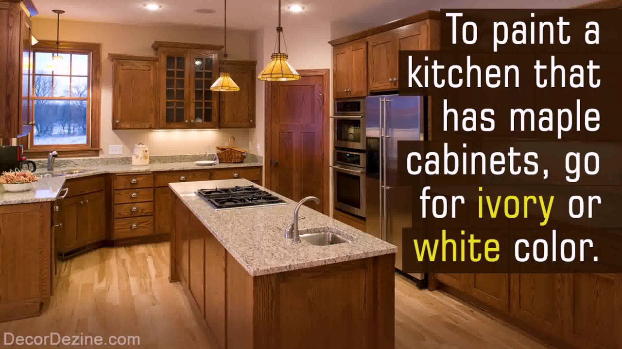 Paint Maple Kitchen Cabinets White Youtube