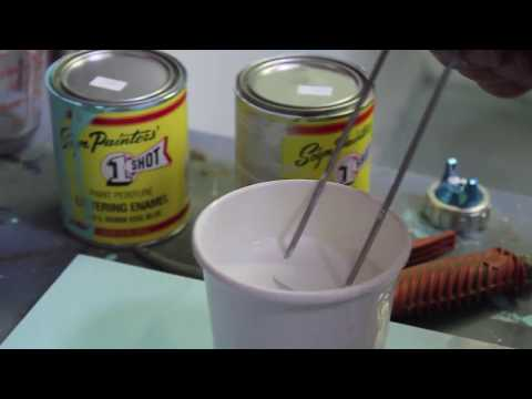 Using a Paint Viscosity Cup to Help You Achieve Better Paint Finishes