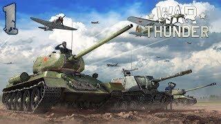 War Thunder - Czołgi Radzieckie #1 - Era 1 - Bitwy Zręcznościowe (Zagrajmy PL Gameplay)