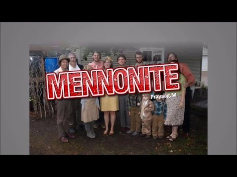 What The Mennonite Gave To Us - Mennonite Contributions To Canada
