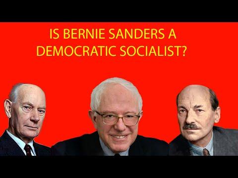 "IS Bernie Sanders a ""true"" Democratic Socialist?"