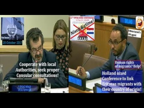 @UNGA72: No Pity for Holland Conference Denied Eritrea Tyran