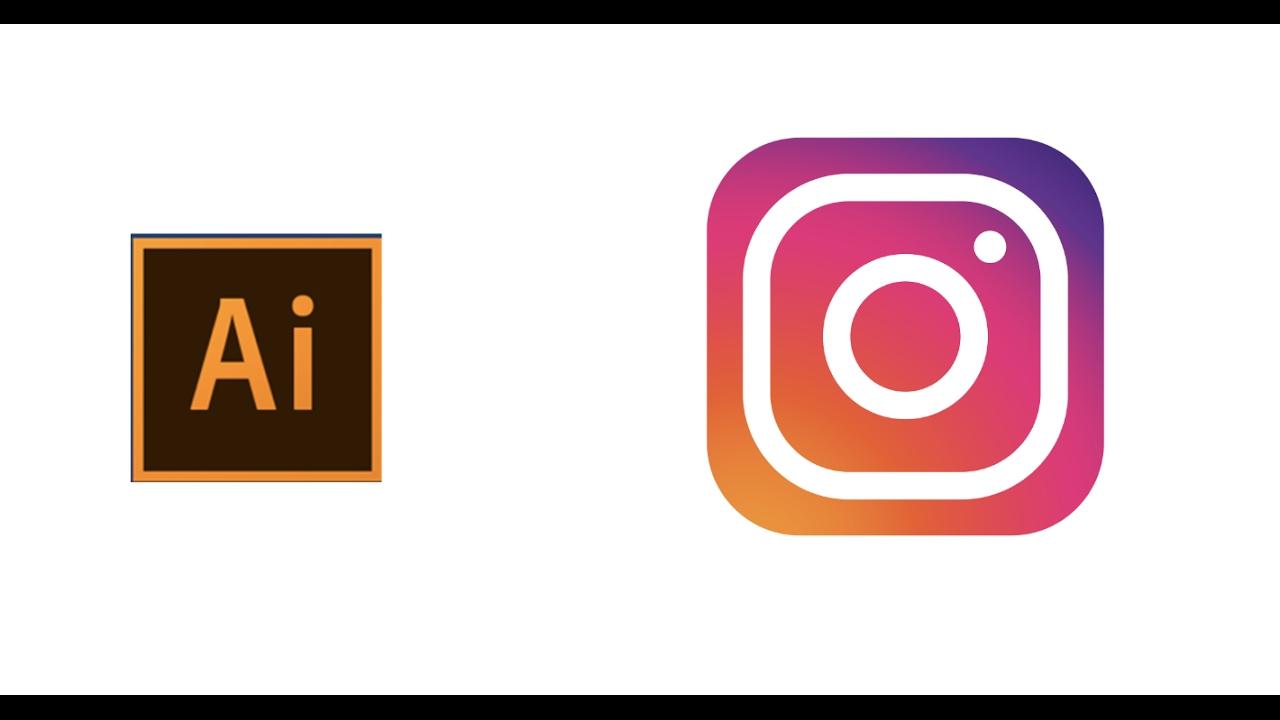 logo instagram illustrator