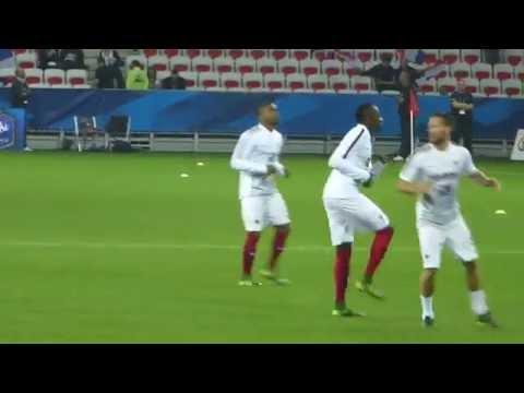 Mathieu Valbuena ● Christophe Jallet ● Alexandre Lacazette ● France vs Arménie 2015