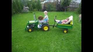 John Deere tractor for children 2