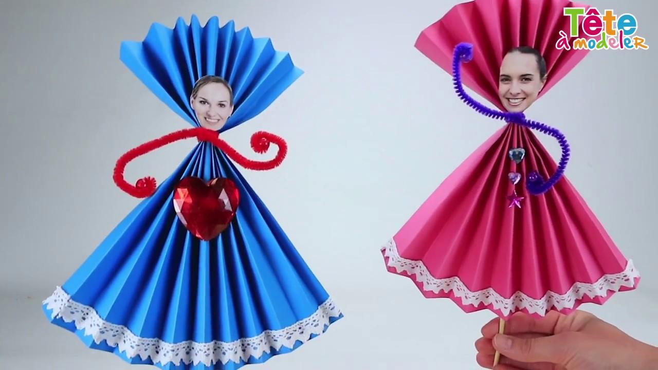 TUTO] La marionnette personnalisée en papier - Une vidéo by Tête à modeler - YouTube