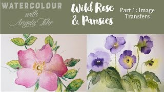 Paint along with me as we explore basic watercolour techniques and ...