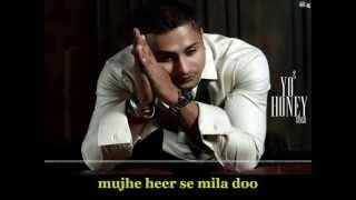 Bring Me Back   Ft. Yo Yo Honey Singh   HD Lyrics Video