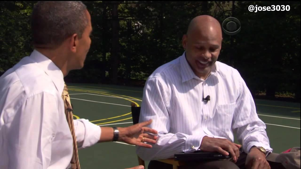 Clark Kellogg Interviews President Barack Obama National