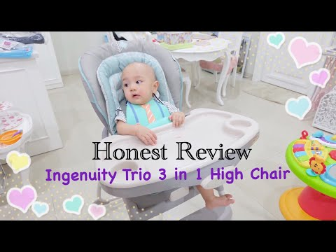 Honest Review | Ingenuity Trio 3 in 1 High Chair