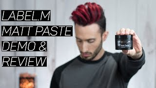 Label.m Matt Paste | DEMO & REVIEW | Is it Really That Good?