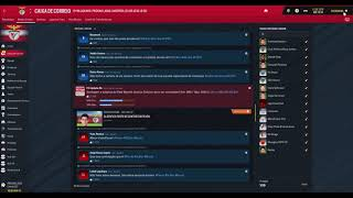 Let's Play (PT-BR) Football Manager 2019  Benfica # 93