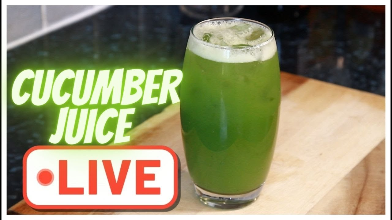 ONE OF THE BEST FRESH CUCUMBER JUICE | Chef Ricardo Cooking | PART 5👈