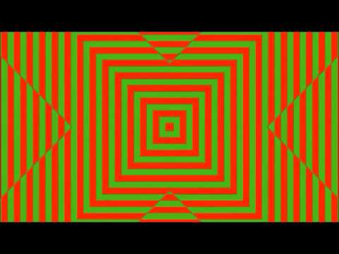 Trippy Optical Illusion Eye Trick | Hypnotic - Hallucinate With Lines Color