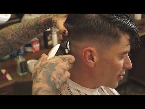 Ivy League Haircut With Channel Texture