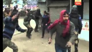 Clash between TMCP and SFI at Surendranath college of  Raiganj
