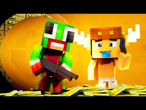 Minecraft Daycare - BABY ROBS A BANK !?