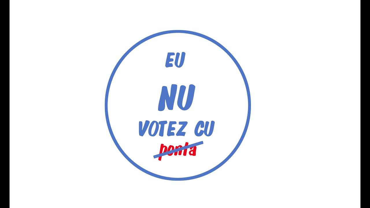 Eu NU votez cu ponta (part 2)