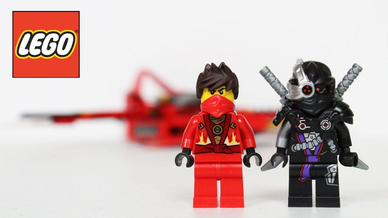 Lego ninjago kai fighter 70721 review unboxing youtube - Ninjago lego kai ...