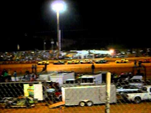 Pure Stock Main #1 @ Harris Speedway September 27th 2014