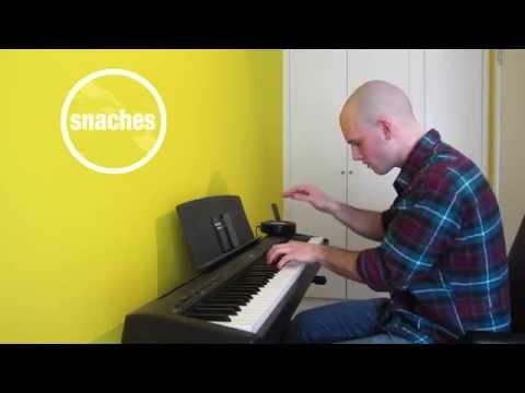 ZHU - Paradise Awaits (FKJ Remix) (snaches piano cover)