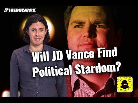 Tim Miller's NOT MY PARTY   Will JD Vance Find Political Stardom?