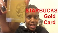 How To Get A Starbucks Gold Card 💳