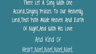 Carrie Underwood- The First Noel (Lyrics)
