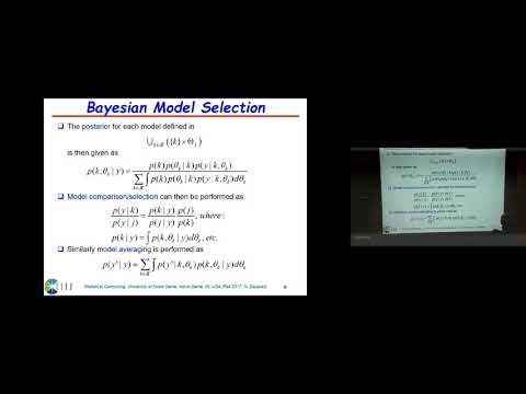 Lecture 22. Reversible Jump MCMC