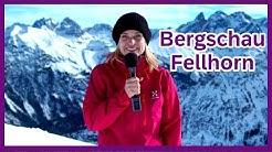 Bergschau – die Infosendung der OBERSTDORF · KLEINWALSERTAL BERGBAHNEN Teil 2 Fellhorn