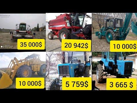 Traktor narxlari 2020 MTZ 80 YUMZ  TARAKTORLARI KAMBAYIN CASE 2366 PUL TOPARLAR NARXLARI
