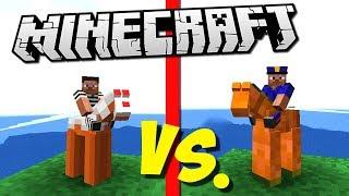 ГЛИНЯНЫЕ ПРЕСТУПНИКИ ПРОТИВ АРМИИ ПОЛИЦЕЙСКИХ (Epic Clay Soldiers Battle) Minecraft #3