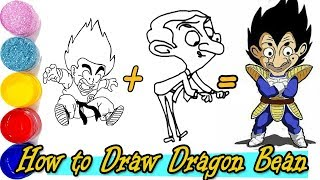 How to Draw Dragon Bean #Mrbeanlive #HarryPotter #GotTalent