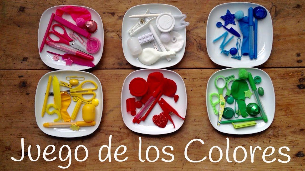 Juego De Colores Juegos Educativos Para Ninos Youtube