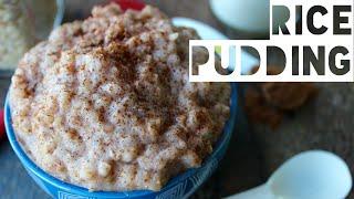 Healthy Breakfast Ideas | Rice Pudding Breakfast Meal Prep Recipe